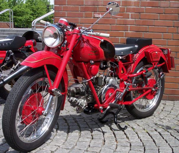 Vintage motorcycles museum