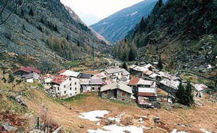 Rural settlements in Piateda