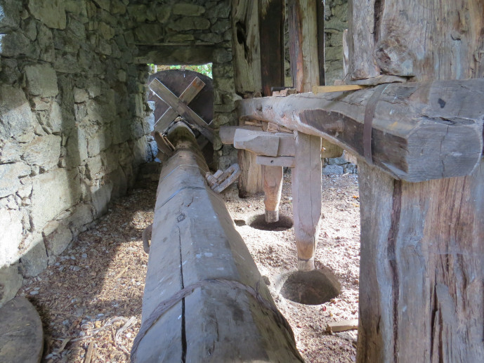 "Mill and mortar in ""Cà dell'Albert"""