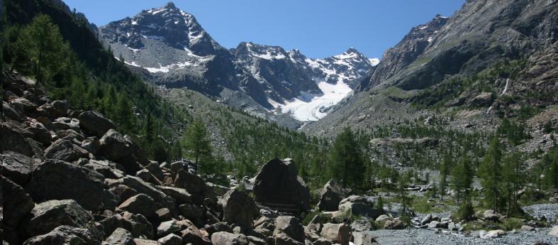 Sentiero tematico - Glaciologico Vittorio Sella