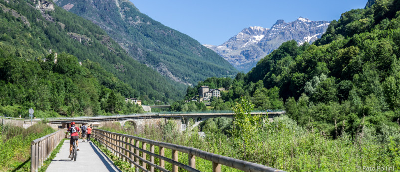 The Rusca trail - cycle path