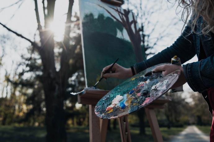 Pittura in natura