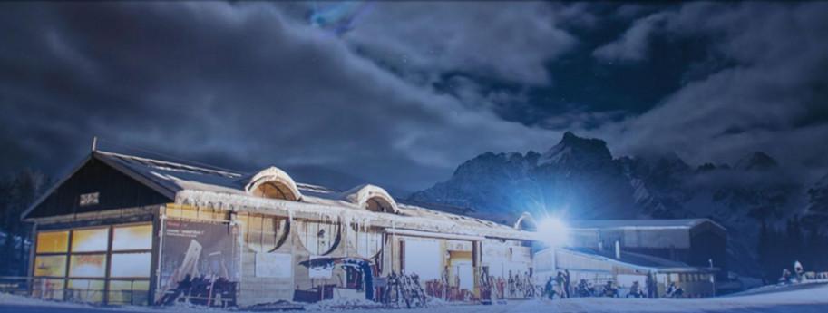 Cena stellata ad alta quota in Valtellina