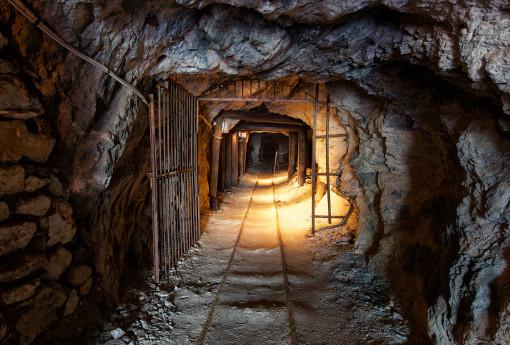 Visita alla miniera della Bagnada