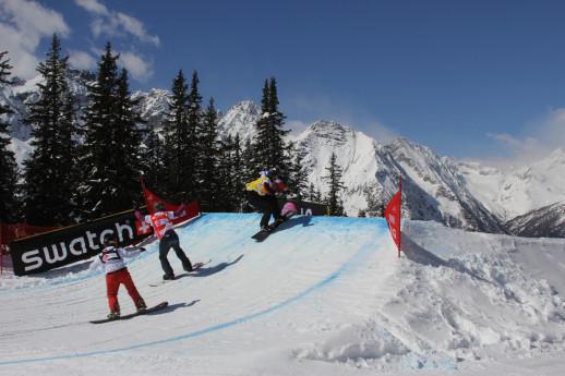 Gara di coppa del mondo di SBX - Snowboard cross