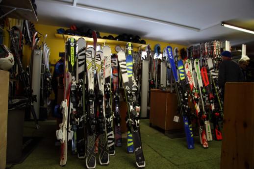 Noleggio attrezzature per lo sci