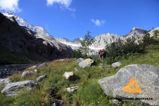 Salita in Val Sissone