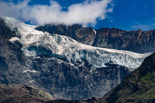 Monitoraggio del ghiacciaio di Fellaria