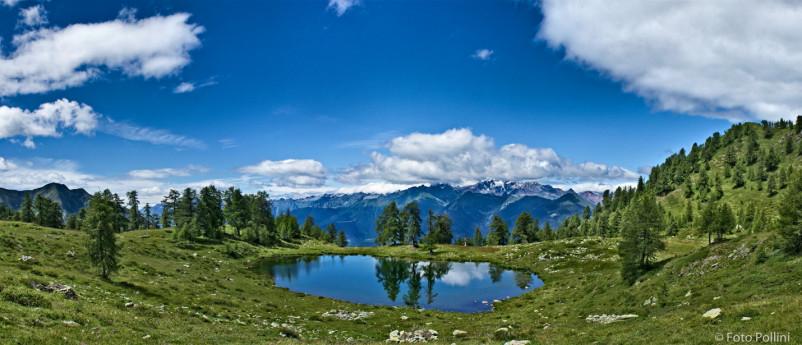 Alpe Campelli di Albosaggia - lago Casera
