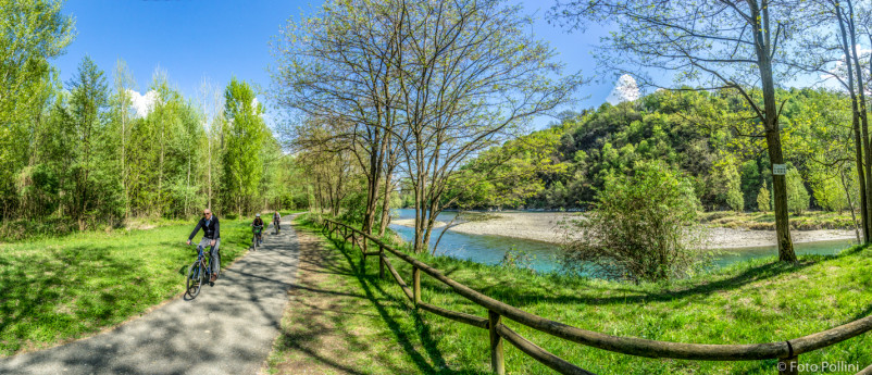 The Valtellina trail - cycle path