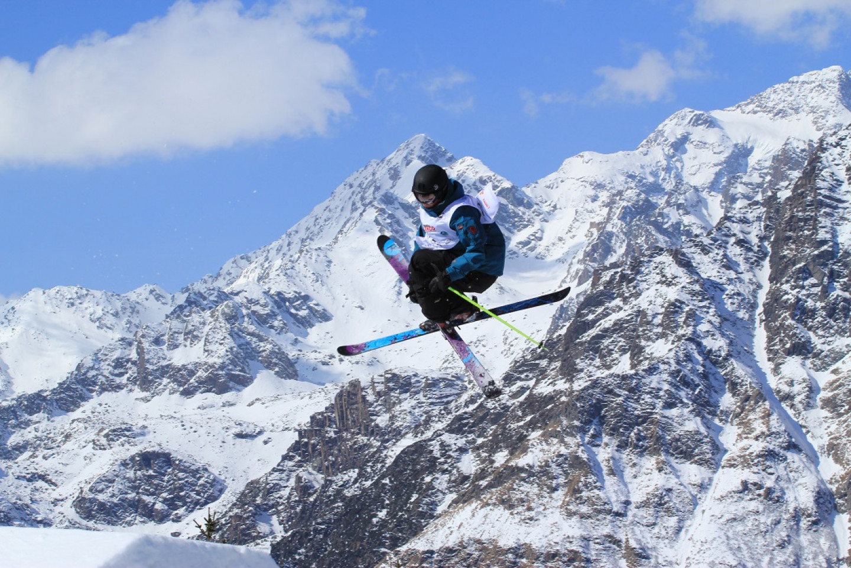 Freestyle ski junior world championships in Valmalenco