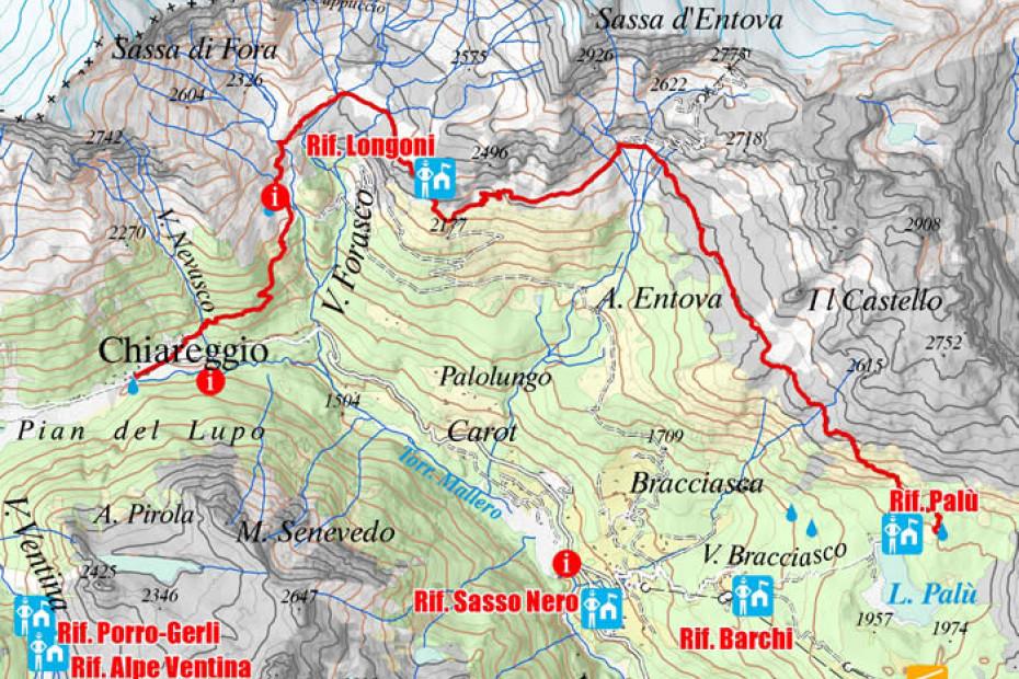 4. Chiareggio - Alpe Lago Palù