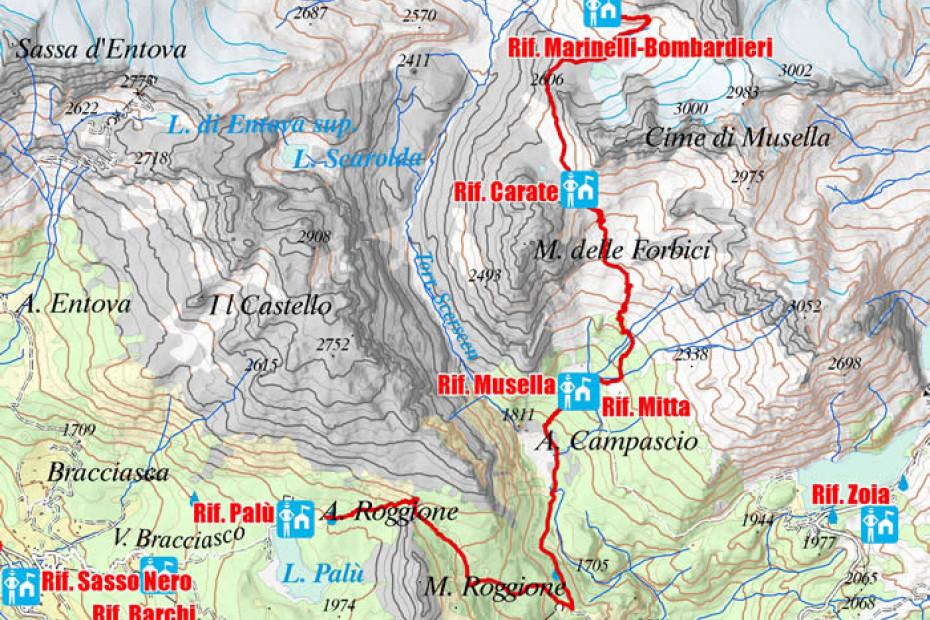 5. Alpe Lago Palù - Rifugio Marinelli