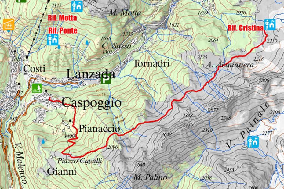 8. Rifugio Cristina - Caspoggio