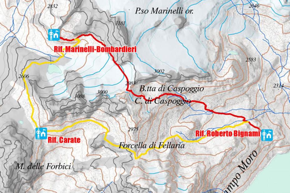6. Rifugio Marinelli Bombardieri - Rifugio Bignami