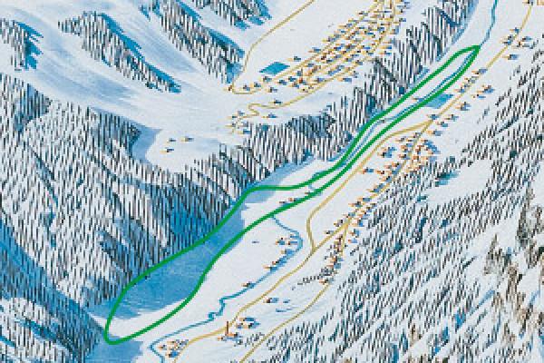 cartina pista fondo Lanzada