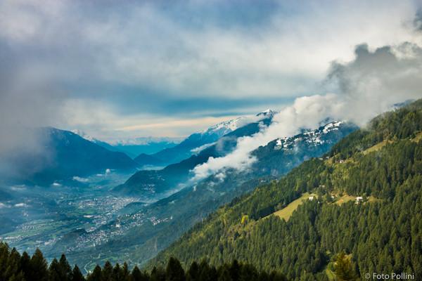 La costa di S. Gaetano-Dalico e la Valtellina