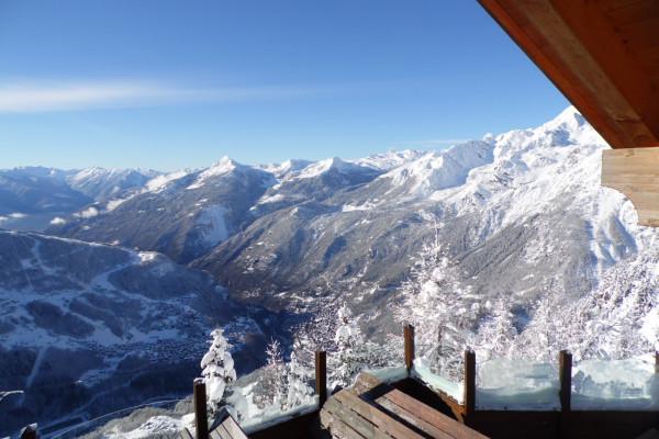 Terrazza panoramica del rifugio Motta
