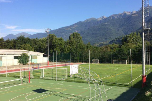 Campo da calcio e tennis